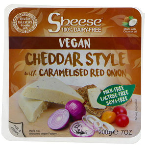 Cheddar w' Caramelised Onion PREORDER REQ'D