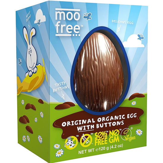 Dairy Free Easter Egg with Buttons Organic