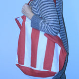 Circus Stripe Tote Bag