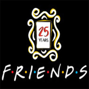 Celebrating 25 Years Of Friends - Could We BE Any Older?