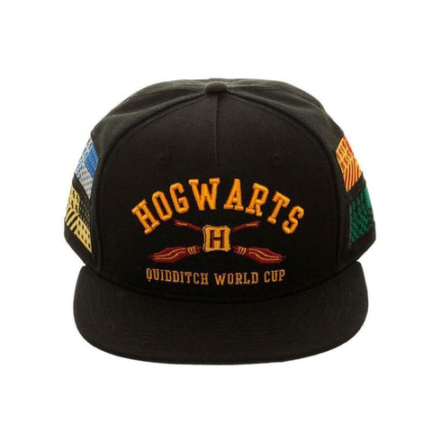 Officially licensed Harry Potter snapback features a Hogwarts design