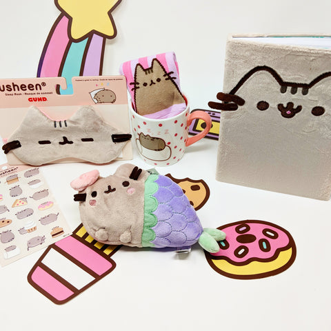 Pusheen giveaway is waiting for its new home!