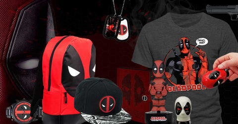 Huge Deadpool Gift Collection