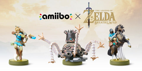 Nintendo's amiibos unders the Zelda Breath of the Wild series