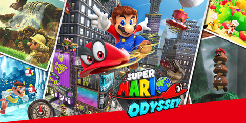 Nintendo Switch Super Mario Odyssey Artwork