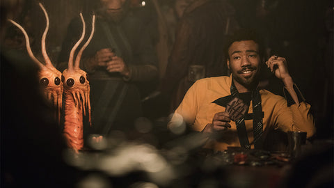 Donald Glover stars as Lando Calrissian in Solo: A Star Wars Story