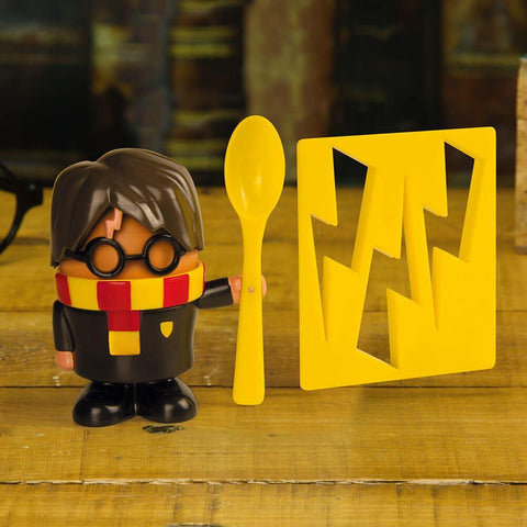 Officially licensed Harry Potter egg cup and toast cutter