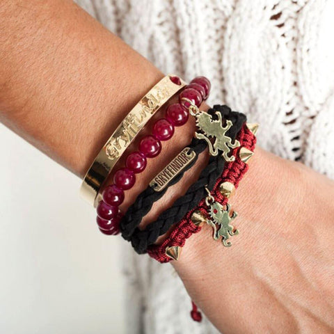 Officially licensed Gryffindor party arm bracelets