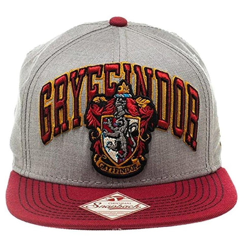 Officially licensed Gryffindor snapback features the Gryffindor house crest