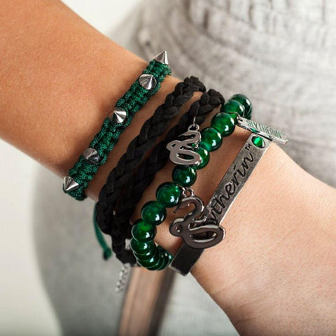 Officially licensed Slytherin party arm bracelets