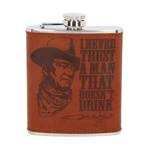 Officially licensed John Wayne Hip Flask
