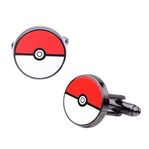 Officially licensed Pokemon Poke Ball Cufflinks