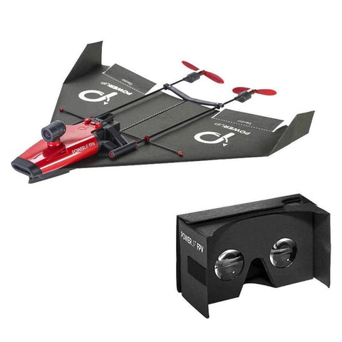 Awesome PowerUp FPV Paper Airplane VR Drone is the ultimate gadget which is sure to please