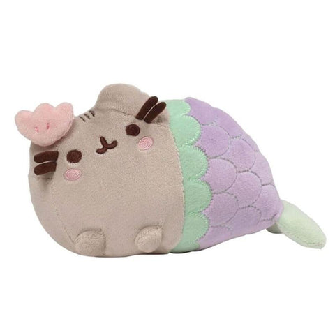 Pusheen Mermaid Clam Shell Small Plush Toy