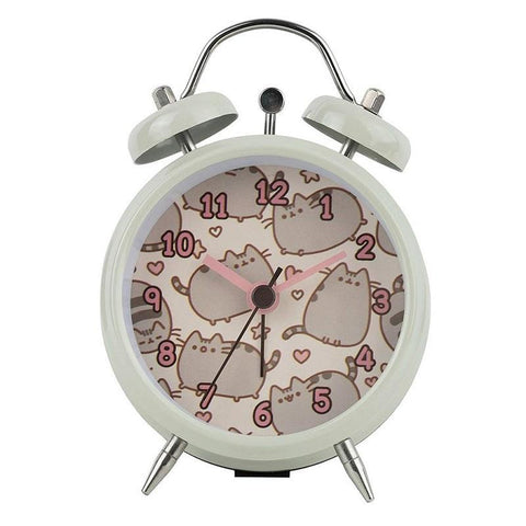 Pusheen Mini Twin Bell Alarm Clock