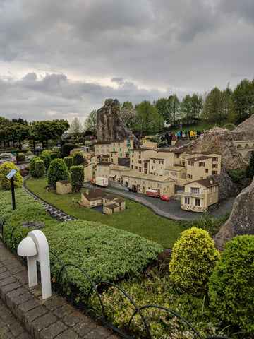 The wonderful scenery and town recreations in LEGOLAND Windsor
