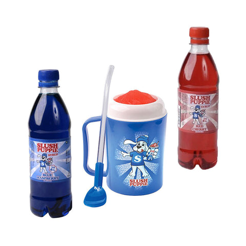 Official Slush Puppie Slush Making Cup and Syrup