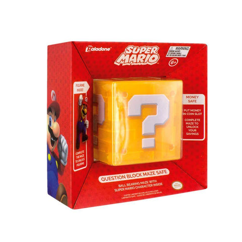 Officially licensed Super Mario Question Block safe