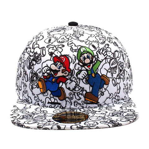 Shop our officially licensed and brand new Super Mario and Luigi snapback now...