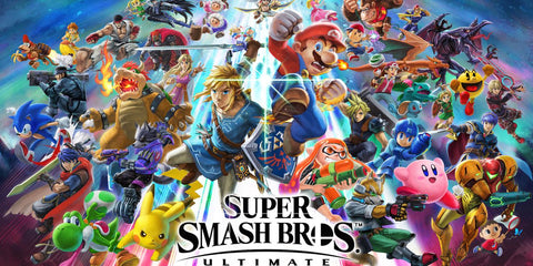 Nintendo Super Smash gang battle each other in Super Smash Bros. Ultimate