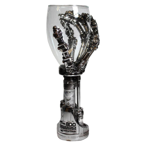 The Terminator is notoriously badass, and this hand goblet is no exception