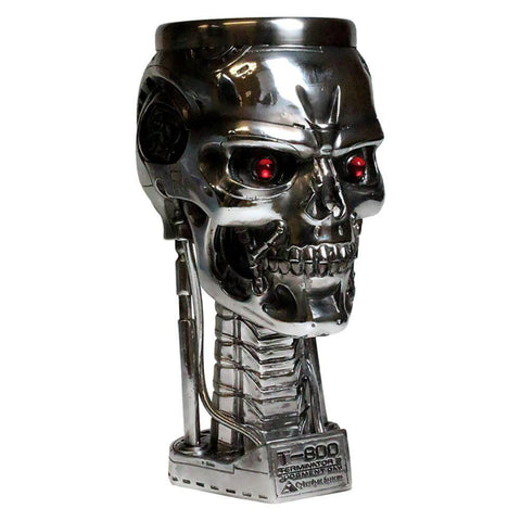 The Terminator is a serious badass and this head goblet is no exception