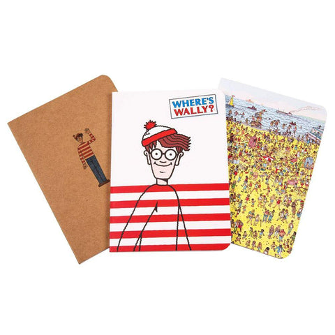 Officially licensed Where's Wally Notebook Set