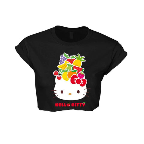 Officially licensed Hello Kitty summery cropped t-shirt