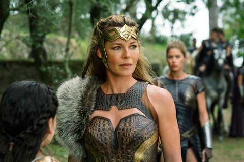 Queen Hippolyta is one strong independent woman!