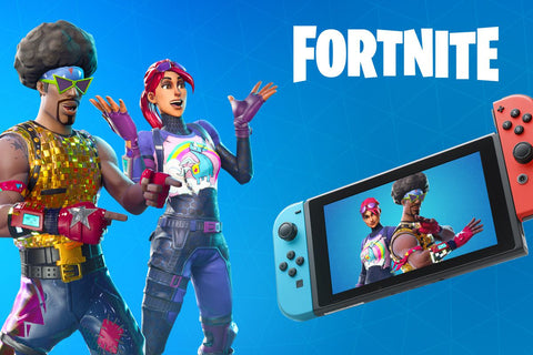The ridiculously popular Fortnite game begins a new chapter in the Nintendo family