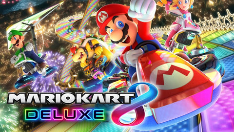 Nintendo Switch Mario Kart 8 Deluxe Artwork