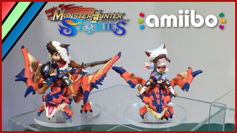 amiibos created by Nintendo for the Monster Hunter Stories in Japan