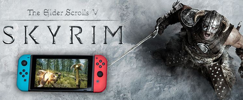 Nintendo Switch Skyrim Artwork