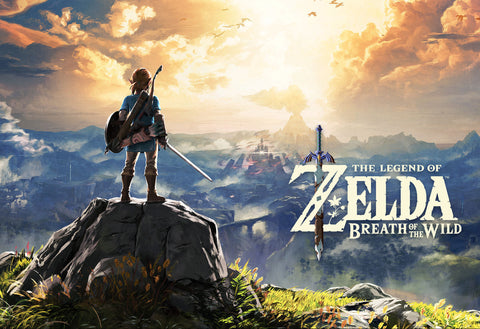 Nintendo Switch The Legend of Zelda: Breath of the Wild Artwork