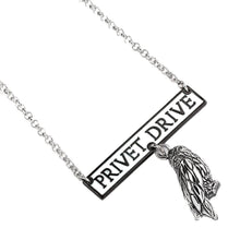 Load image into Gallery viewer, Harry Potter Sterling Silver Hedwig Privet Drive Necklace.