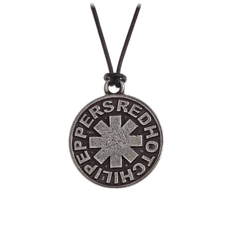 Alchemy Rocks Red Hot Chili Peppers Star Pendant