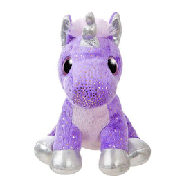 "Sparkle Tales 7"" Sprinkles Purple Unicorn Plush Toy"