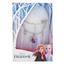 Load image into Gallery viewer, Children's Frozen Elsa and Anna Charm Bracelet