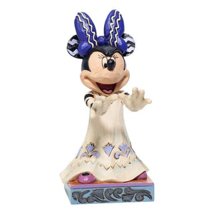 Disney Traditions Minnie Mouse 'Scream Queen' Halloween Figurine