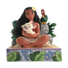 Load image into Gallery viewer, Disney Traditions Moana 'Welcome to Motunui' Figurine