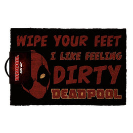 Deadpool 'I Like Feeling Dirty' Doormat