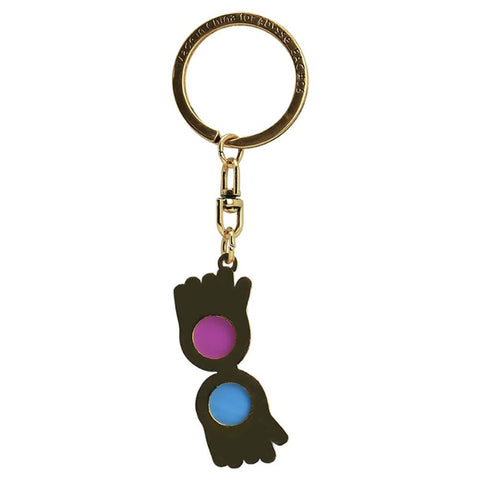 Harry Potter Luna Lovegood's Glasses Keyring
