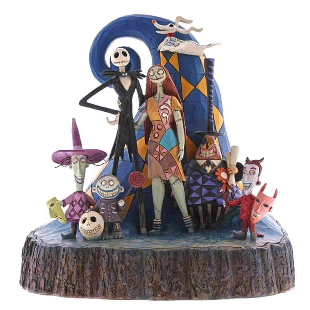 Disney Traditions Nightmare Before Christmas 'What a Wonderful Nightmare' Figurine