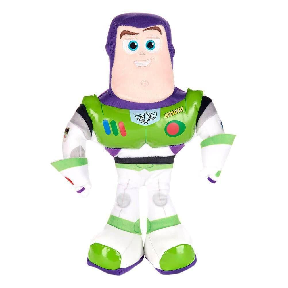 Front View of the Toy Story 4 Movie Buzz Lightyear 10 Inch Plush Toy
