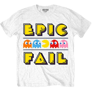 Men's Pac-Man Epic Fail T-Shirt.