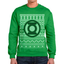 Load image into Gallery viewer, Unisex Green DC Comics Green Lantern Christmas Jumper