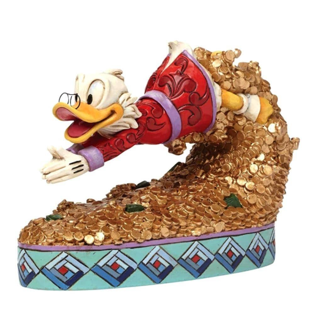 Disney Traditions Scrooge McDuck Treasure Dive Collectable Figurine