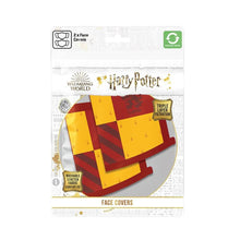 Load image into Gallery viewer, Harry Potter Gryffindor Triple Layer Cotton Fabric Face Mask 2PK