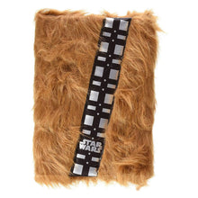 Load image into Gallery viewer, Star Wars Chewbacca Premium Furry A5 Notebook.
