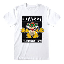 Load image into Gallery viewer, Men's Super Mario Bowser King of Koopas Crew Neck T-Shirt